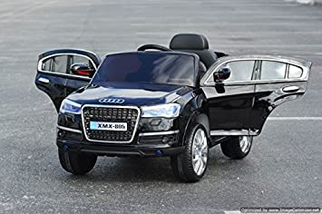 New Audi Q7 Style Electric Ride On Car For Children With LED Wheels |  Remote Control