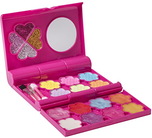 Playkidz - My First Princess Tri Fold Makeup Cosmetics Set - Fashion Makeup Palette with Mirror for Girls ()
