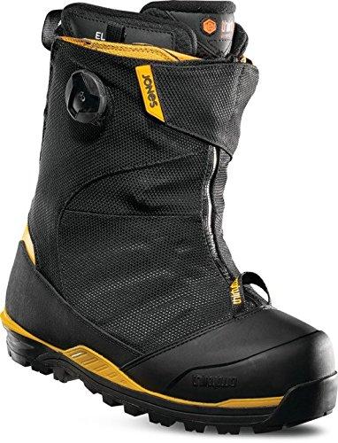 ThirtyTwo Jones MTB '18 Snowboard Boots, Black/Yellow, 11