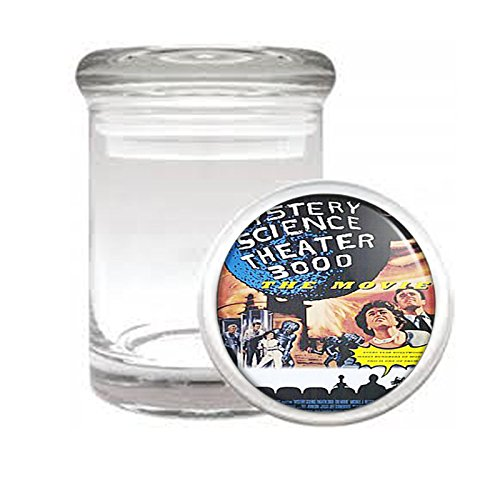 Mystery Science Theater 3000 Medical Glass Jar D-129