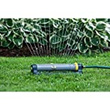 Melnor 3,900 sq. ft. Deluxe Turbo Oscillating Sprinkler With Clog Resistant 18 Rubber Nozzles And Clog/Puddle ResistantTurbo Drive Motor, # 172-849 Review