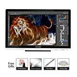 Huion 21.5 Inch Pen Display IPS Interactive Pen Monitor Graphics Monitor for Windows and Mac—GT-220 V2 Silver
