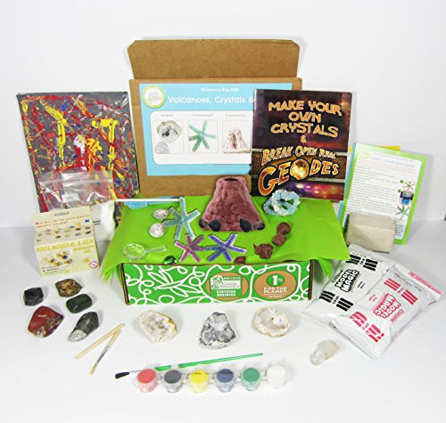 Green Kid Crafts, Volcanoes Discovery Box