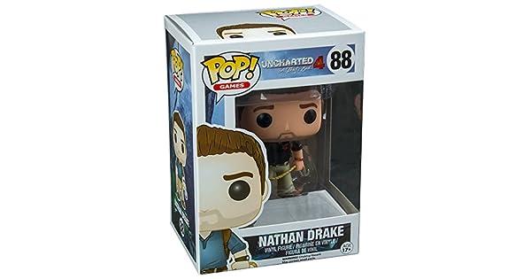 Amazon.com: Funko POP Uncharted 4 Nathan Drake Naughty perro ...