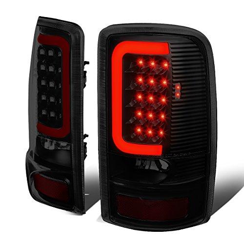 For Yukon Denali/Suburban/Tahoe GMT800 Pair of 3D LED Tail Brake Lights (Black Housing Smoked Lens)