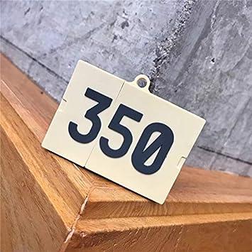 Cubierta de la Caja para Protecitive AirPod De Silicona Protectora Auriculares inalámbrico 350 la Caja de Zapatos Forma de AirPods de Apple de 1/2 Caso de la Cubierta Pieles: Amazon.es: Electrónica