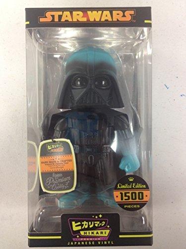 Star Wars Darth Vader Lightning Premium Hikari Sofubi Vinyl Figure]()