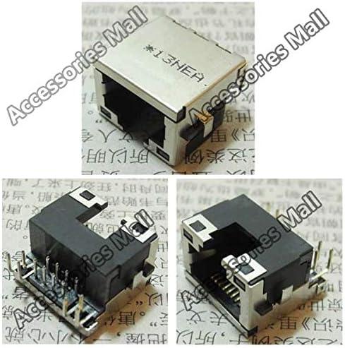 Cable Length: 5 PCS Computer Cables Laptop RJ45 Jack//Network Interface Cards//Ethernet Port//LAN Port for Lenovo IdeaPad V350 U330 Y330 B570 B575 V570
