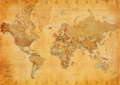 world-map-xxl-poster-vintage-style-55x39
