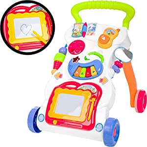 13016 - Andador con juguete - Pizarra Mágica, Keyboard: Amazon.es ...