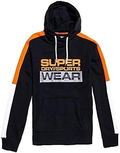 Superdry Mens Vl Stripe Hood Hoodie