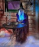 JedaJeda Home Decor Life-Size Halloween Psychic Witch Evil Reaper Creatures