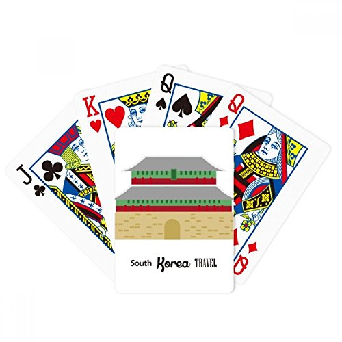 beatChong South Korea Landmarks Travel Place Poker Playing Card Tabletop Board Game Gift by beatChong