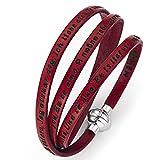 Amen bracelet I love you, red, 57 cm (22.46 inc.)