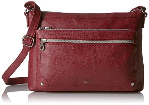 Relic by Fossil Evie Crossbody Handbag, Baked Apple