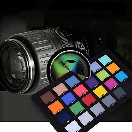 Andoer Professional 24 Color Card Test for Superior Digital Color Correction