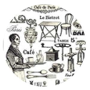 alfombrilla de ratón Café de Paris - ronda - 20cm