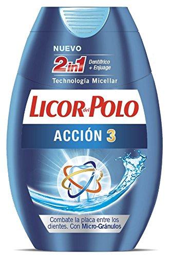 Licor del Polo Pasta de dientes 2 en 1 Acción 3 - Protección en 3 Dimensiones