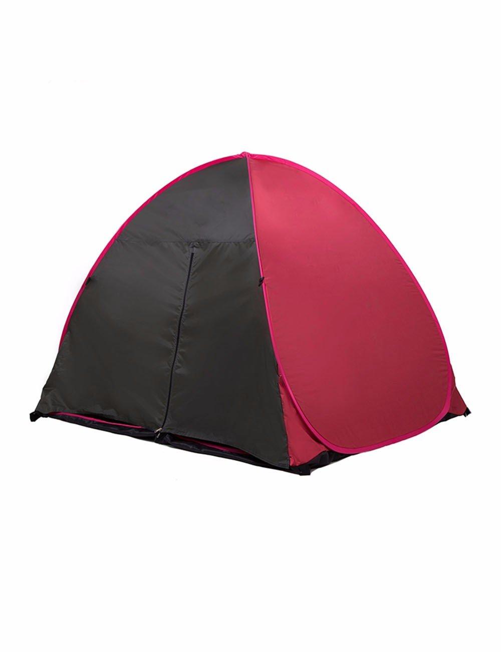 SJQKA-Zelt Outdoor 2 Voll automatische Hayaaki Tragbares ein Sonnenschutzmittel Die Selbstfahrer Camping Ultra-Light Kinder Sand Zelt
