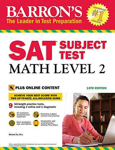 Pdf Teen Barron's SAT Subject Test: Math Level 2 with Online Tests