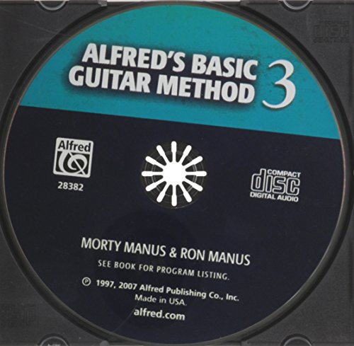 Alfred's Basic Guitar Method, Bk 3: The Most Popular Method for Learning How to Play (CD)