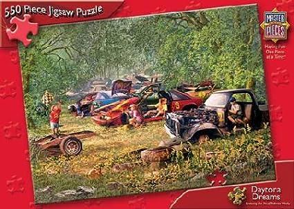 Daytona Dreams 550pc Puzzle by Master Pieces