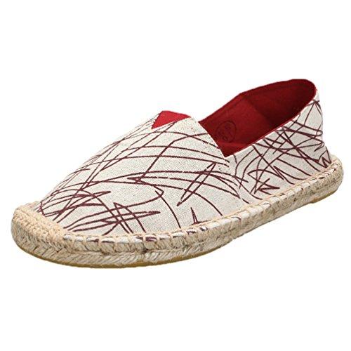 Lvguang per di da Uomo Viaggio Women Scarpe Tela Espadrillas Basse Scarpe Stile10 Casual Unisex Shoes Le HwrxqOH
