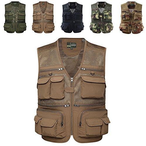 Chest Pocket Mesh Vest - 8
