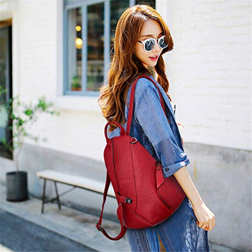 Backpacks Black Niñas Femenina Hombro Vintage Mochilas Mujer Viaje Para Red De Bolsa Mochila wFyZfPBq