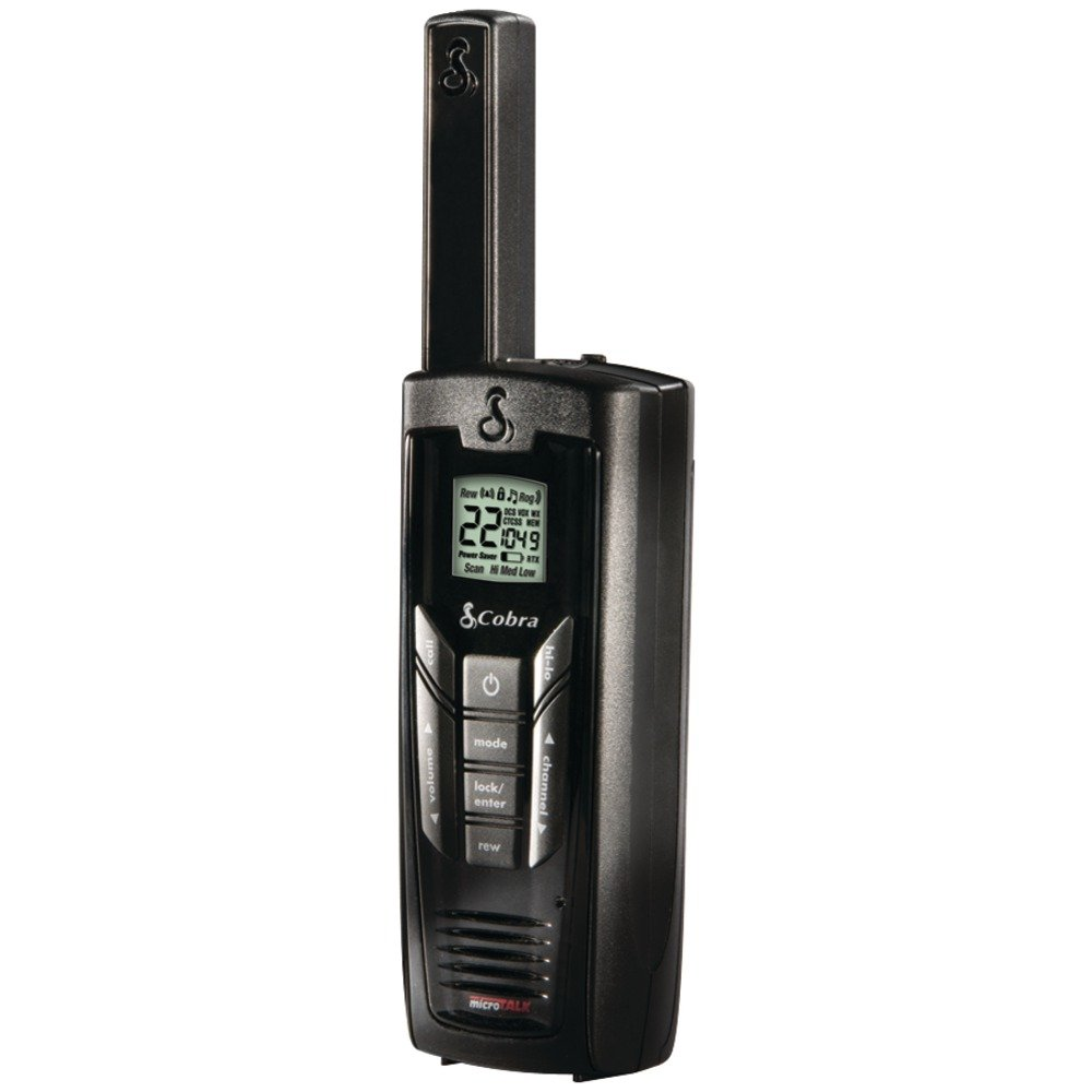 COBRA CXR925 35-MILE MICROTALK 2-WAY RADIOS, 2 PK