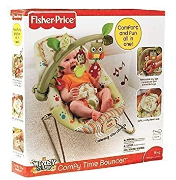 Gorbanshop Bebé Hamaca Asiento Vibración Silla Confort woodsie Fisher Price