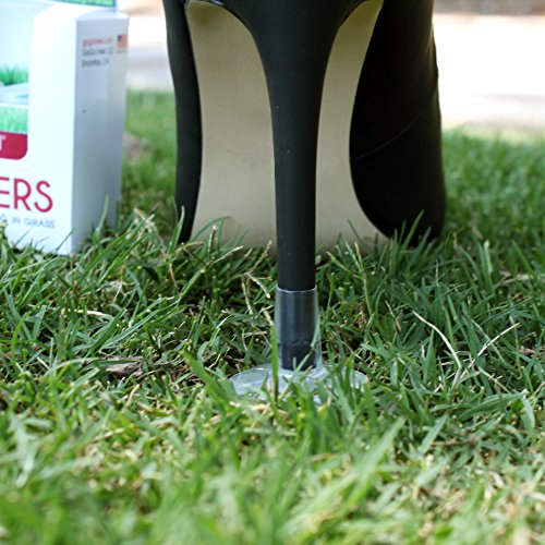 deab9698b GoGoHeel STOPPERS Heel Protectors - Stops Sinking into Grass (Small)