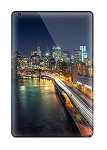 New Style Ipad Mini Well-designed Hard Case Cover Manhattan Nights Protector 7420465I95406491