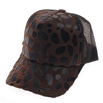 197f5da0d07975 Hip-hop ladies Leopard print baseball cap Hat Caps hats , brown ...