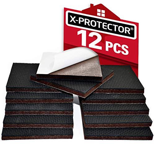 Non Slip Furniture Pads X-PROTECTOR - Premium 12 pcs 3