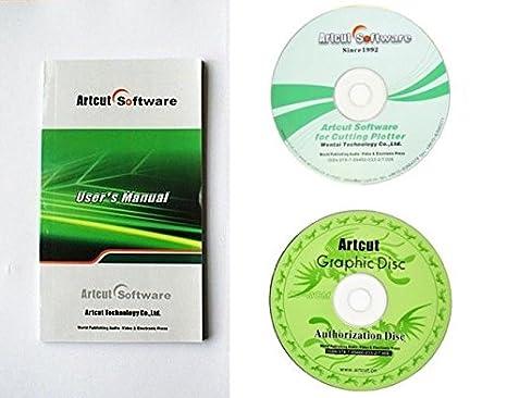 Vinyl Cutter Software >> Amazon Com Cutting Plotter Software Vinyl Cutter Software Artcut