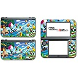 New Super Mario Bros 2 3D Land World Luigi Goomba Video Game Vinyl Decal Skin Sticker Cover for the New Nintendo 3DS XL LL 2015 System Console Protector by Vinyl Skin Designs