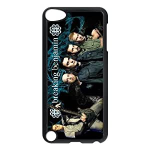 Unique Design Cases Ipod Touch 5 Cell Phone Case Breaking Benjamin Mgnek Printed Cover Protector