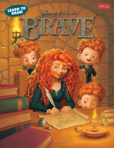 Learn To Draw Disney Pixar S Brave Featuring Favorite Characters From The Disney Pixar Film Including Merida And Angus Licensed Learn To Draw Disney Storybook Artists 8601406703841 Amazon Com Books