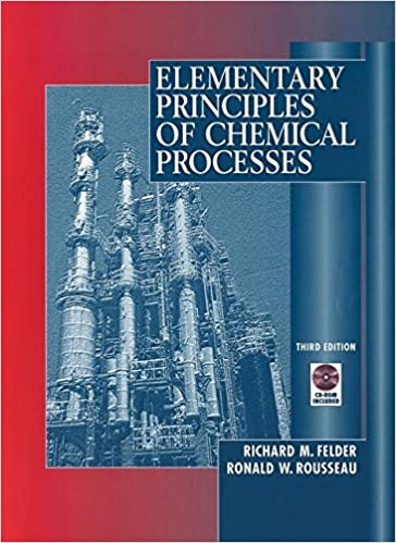 elementary principles of chemical processes 4th edition solutions Amazon.com: Elementary Principles of Chemical Processes ...