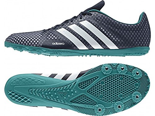 Adidas Bolt (Adidas Adizero Ambition 3 Running Spikes - SS16 - 12.5 - Blue)