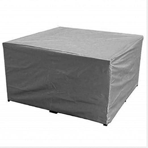 N/A UMTGE - Funda para muebles de jardín, impermeable, poliéster: Amazon.es: Hogar