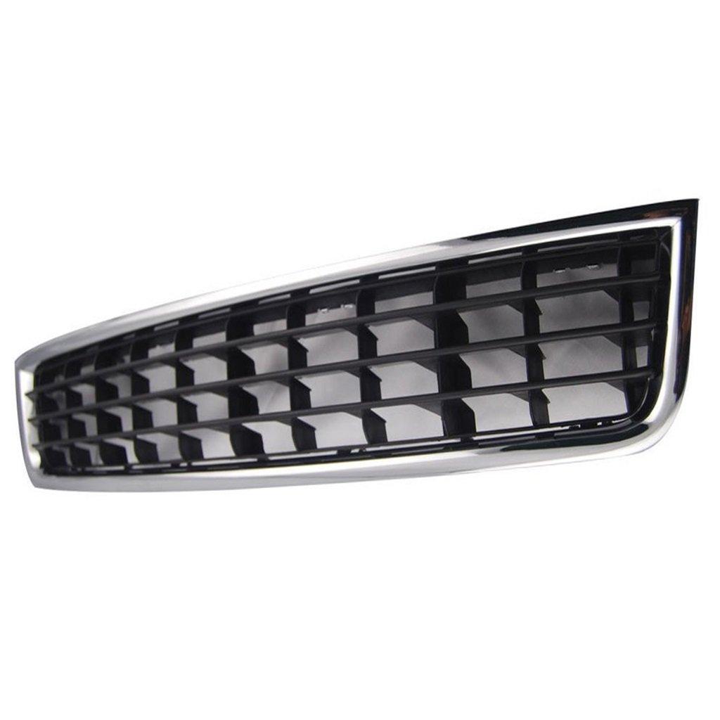 Rejilla Central Del Parachoques Delantero Inferior Con 2 Parrillas Laterales De 02-05 Audi A4: Amazon.es: Coche y moto