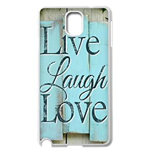 Live Laugh Love Classic Personalized Phone Case for Samsung Galaxy Note 3 N9000,custom cover case ygtg576328 by supermalls