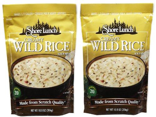 Shore Lunch Creamy Wild Rice Soup Mix, 10.8 oz, 2 pk