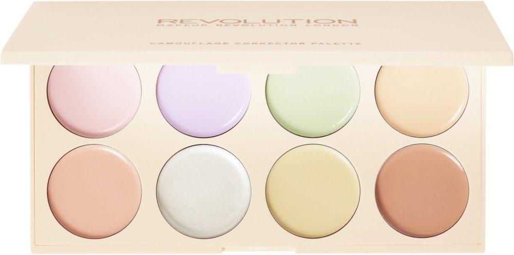 Makeup Revolution Camouflage Corrector Palette, Multicolor