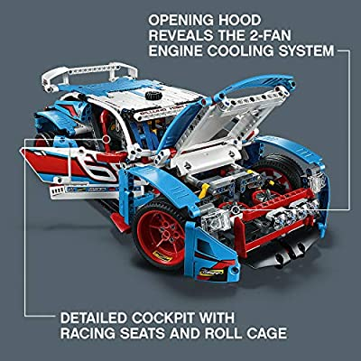 LEGO Technic Rally Car 42077 Building Kit (1005 Pieces): Toys & Games