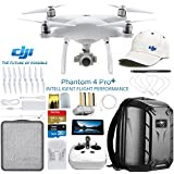 DJI Phantom 4 Pro Plus Quadcopter Drone w/DJI Pilots Hat & Hard Shell Backpack Bundle