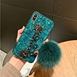 MayCase iPhone 7 Fur Ball Case with Brac...