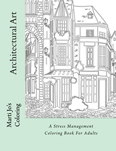 Architectural art coloring worksheet coloring pages architectural art a stress management coloring book for adults architectural blueprint art architectural art a stress malvernweather Image collections